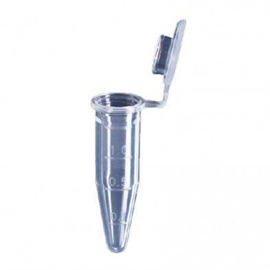 153-559 Micro Centrifuge Tube 1.5ml PP, Attached Cap