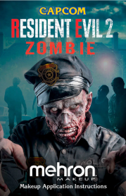 KRE2Z Resident Evil 2 Zombie All-Pro Makeup Kit