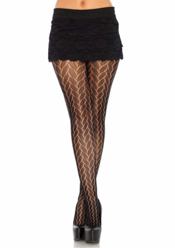 9759 PLAITED LACE TIGHTS