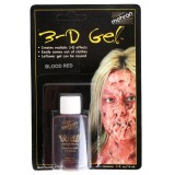 142R 3D Gel Blood Red Carded 14ml