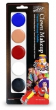 406C 5 Color Clown Palette with Auguste Carded