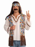 65802 Hippie Shirt, Vest & Headband