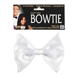 67689 Clip On Bow Tie White