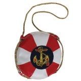 68259 Lady In The Navy Handbag