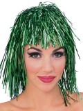 71550 Tinsel Green Wig