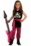 80's Rock Chick Costume Child