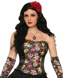 74684 Day Of The Dead Corset
