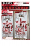 79044 Bloody Mess Welcome Door Cover