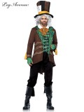 Classic Mad Hatter 5PC Costume