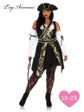 Black Sea Buccaneer 4PC Costume