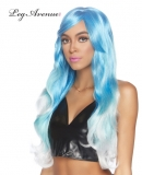 A2778BL MERMAID OMBRE BLUE WIG