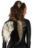 A2792 GOLD SEQUIN WINGS