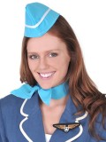 N2634 Air Hostess Set - Hat, Scarf & Badge MIN 2