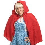 N27105 Cape Hooded Red Riding Hood