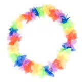 N89107 Flower Lei Multi (12/Pk)