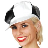 NAF039 70's Disco Cap Black/White