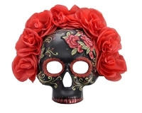 ND0004 Catalina Day Of The Dead Floral Mask