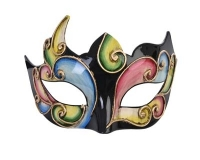 ND12363B Alzena Eye Mask - Black/Multicolour