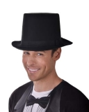 ND2400 Lincoln Top Hat Felt Deluxe with Elastic Inner