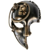 ND4133 Benedict Steampunk 3/4 Face Mask