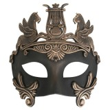 ND4324 CAVALLI Centurion Black & Bronze Eye Mask