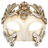 ND4351 ANTONIO Roman Platinum & Ivory Eye Mask
