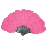 NF23P Feather Fan - Pink