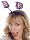 NP1019 18th Birthday Purple Head Bopper 6 Pack