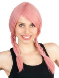 NW827 Michelle Pale Pink Plaits