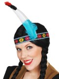 NY1101 Indian Headpiece Single Feather