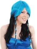 NZ20532 Astra Blue and Black Wig MIN 2