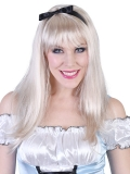 NZ7080 Alice Long Blonde with Fringe