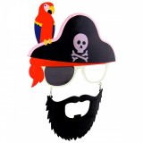 SG2140 Bearded Pirate with Parrot Sunstaches