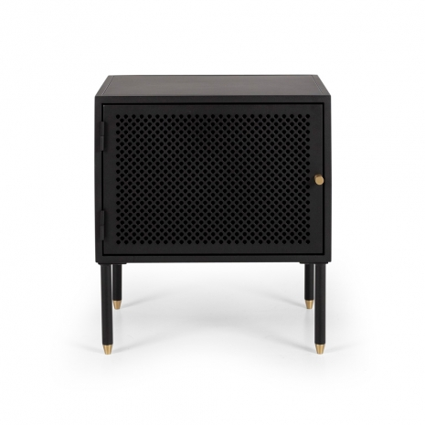 SHDBSBLKR Dawn Bedside (Black) right opening