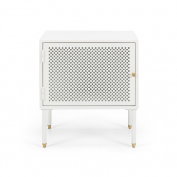 SHDBSWHR Dawn Bedside (White) right opening