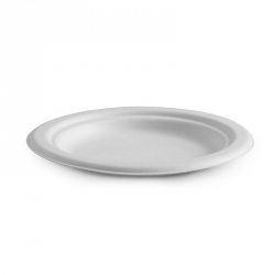 "CB1104 Plate Dessert 150mm 6"" BioPak Compostable PL-06"