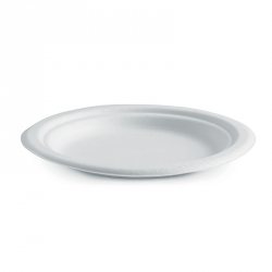 "CB1106 Plate Dessert 180mm 7"" BioPak Compostable PL-07"
