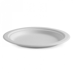 "CB1107 Plate Dinner 230mm 9"" BioPak Compostable PL-09"