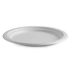 "CB1110 Plate Dinner 260mm 10"" BioPak Compostable PL-10"