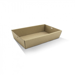 CD1062 Catering /Platter Box Kraft Med Short 360x255x50mm
