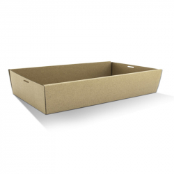 CD1067 Catering /Platter Box Kraft Large 560x255x80mm