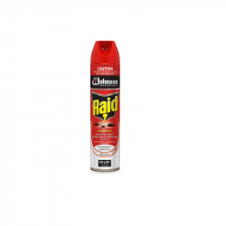 ED0010 Raid One Shot Surface Spray Red 375g Ctn6