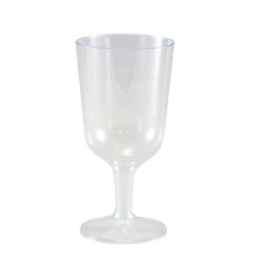 GE0015 Plastic Wine Glass 175ml Ctn100/Pkt10  C-DC0561
