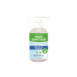 HZ2015 Hand Sanitiser Alcohol Gel 200ml