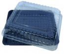 LD3060 Utility Tray Black with Clear Dome lid CVUTLM