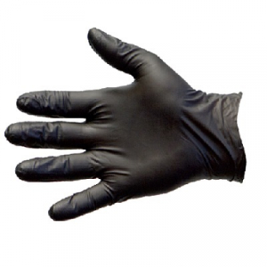 MA3066 Gloves Black Duo Nitrile/Vinyl P/Free X/Large