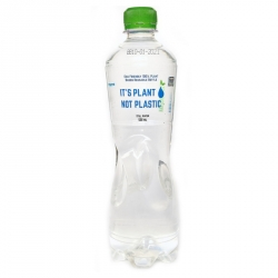 NC2000 Bottled Water 500ml 100% Eco, Printed Its Not Plastic