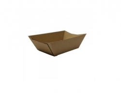 OB0054 Endura Food Tray #0.5 X/Small Kraft 110x76x40mm
