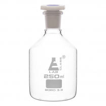 Reagent Bottle Polystop - Clear Glass