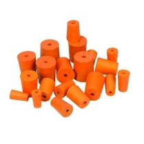 Stopper Rubber 1 Hole #17, 41mm Base CLEARANCE